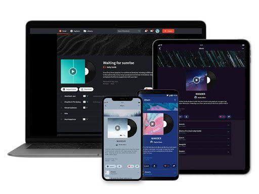 BandLab online - diseño
