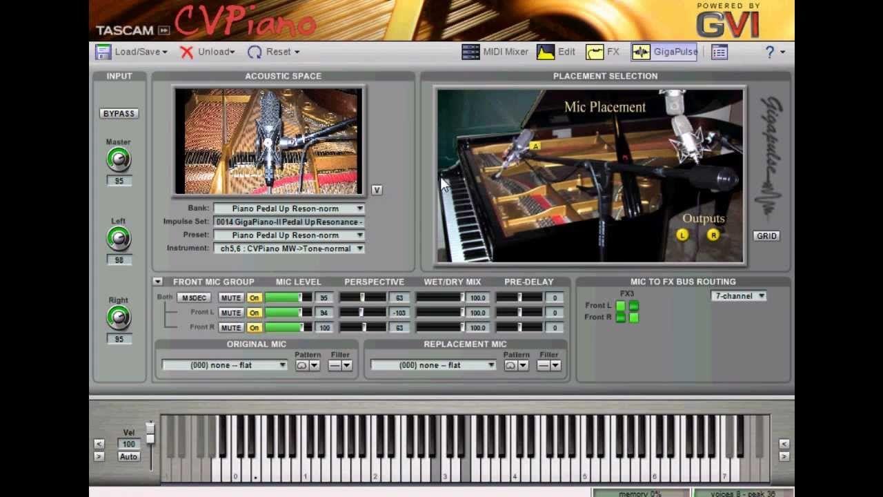 Descargar CV Piano