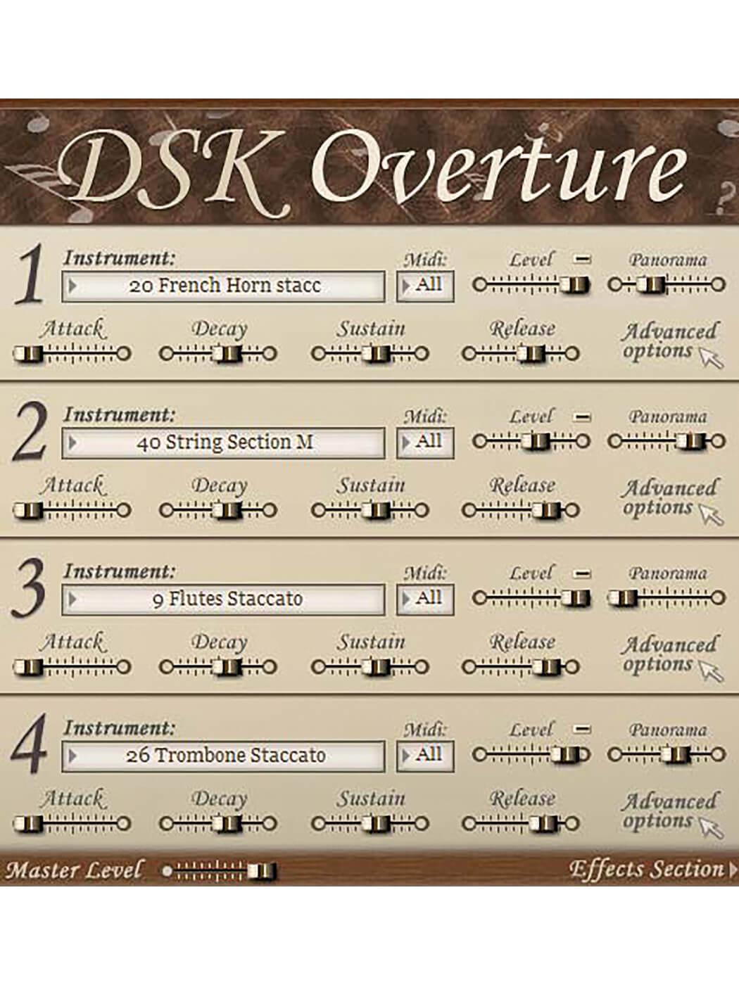 dsk overture violin vst descargar