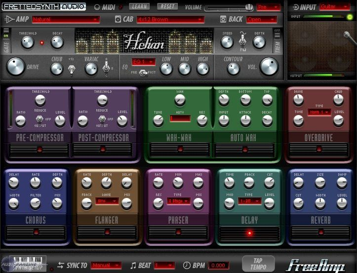Fretted Synth Free Amp 3 vst - guitarras eléctricas VST