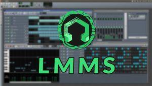 DAW LMMS - software de edición de audio