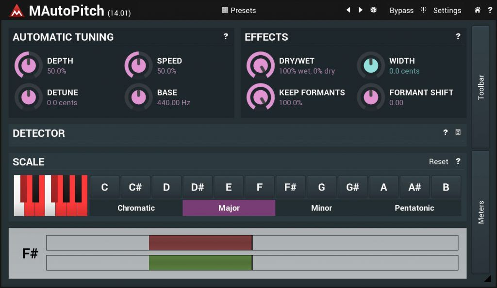 plugins vst para voz descargar melda mautopitch auto-tune