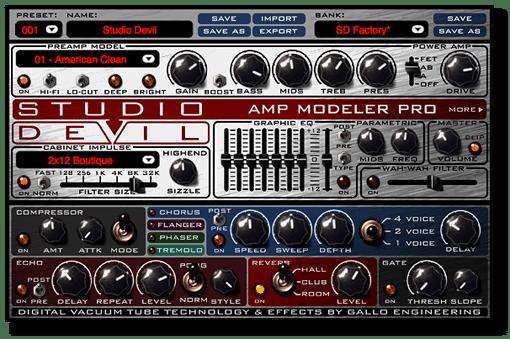 Studio Devil VST freedownload guitarras eléctricas VST