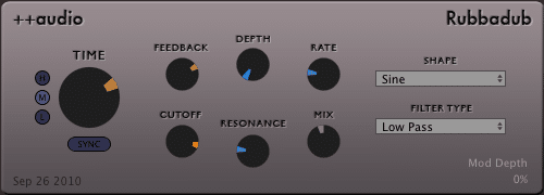 Rubbadub VST Free download
